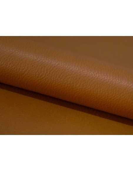 Piel ternera en tono Cuero para realizar artículos de marroquinería duraderos y resistentes