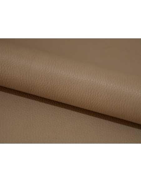 Ternera tono Taupe para la fabricación de bolsos y calzado principalmente