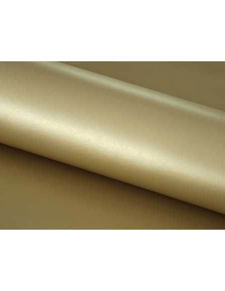 Piel de alta calidad en color Oro para artículos de cuero que destacan en ocasiones especiales por su elegancia y acabado
