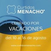La semana del 10 al 16 estaremos de vacaciones #summer #holidays #curtidosmenacho #leather #qualityleather #softleather #fullgrainleather