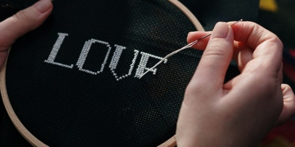 The art of embroidery. Leather embroidery