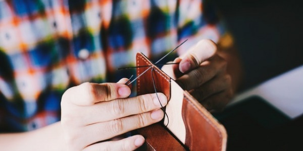 How to sew leather: Needles for sewing leather